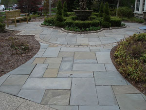 Brickside Paving Inc. - Blue Stone