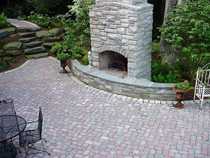 Brickside Paving Inc. - Fireplaces
