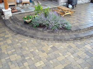 Brickside Paving Inc. - Brick Patios