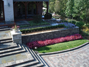 Brickside Paving Inc. - Retaining Walls